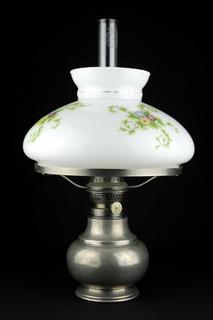 Коллекционная керосиновая лампа Kosmos Brenner. Винтаж. Германия. (0461)