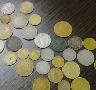 Монеты дореформы 29 штук с 1924 по 1957