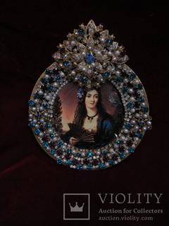 Портрет Лола Монтес, графиня фон Лансфельд (1821-1861), Галерея Красавиц Нимфенбург