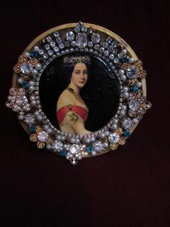 Портрет Княгиня Алекса́ндра Ио́сифовна (1830-1911), Галерея Красавиц Нимфенбург