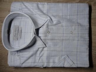 Хлопковые мужские рубашки с коротким рукавом Pan Filo