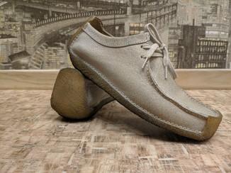 Кожаные туфли ботинки мокасины кларкс clarks 39 размер стелька 25
