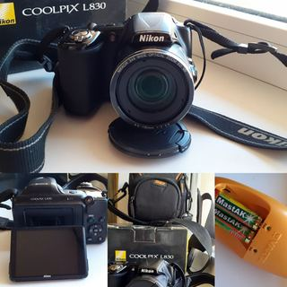 Фотоаппарат nikon L830