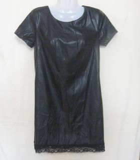 Женское платье мини, кожа, van gils, 42 ра-р.