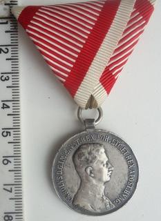 Австро-Венгрия За Храбрость Карл 1917-18 гг 2 ст.