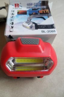 Налобный фонарь с мощным диодом 10W
