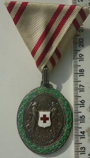 Австро-венгрия медаль за заслуги красный крест 1864-1914