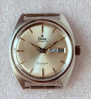 Винтажные часы Edox Triumph, 70е годы XX, на ходу