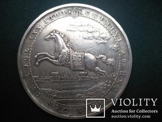 Настольная медаль Ag (отражение нападения на Амстердам 30 июля 1650 г.)
