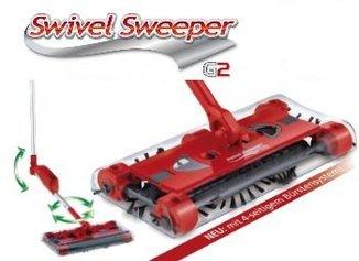 Аккумуляторная щетка - веник фирмы Swivel sweeper G2
