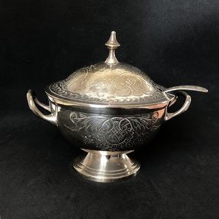 Посуда для вторых блюд, серебрение на бронзе, Англия