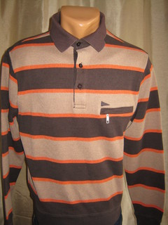 """Рубашка polo с длинным рукавом""""Paul r Smith""""."""