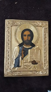 Господь Вседержитель латунь у прекрасному стані