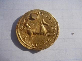 Подражание римской монете