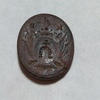 Печать дворянина, герб Долэнга 18ст