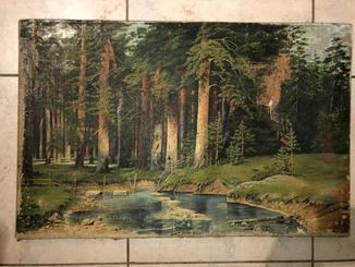 Старая (копийная) картина .1913 год .