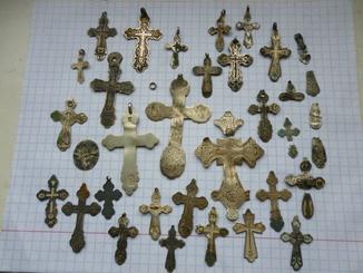Кресты ..Серебро