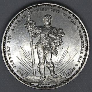 5 франков 1879 гг. Серебро. 25,01 г.