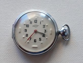 Карманные часы для слабовидящих Златоустовский Часовой з-д Рабочие
