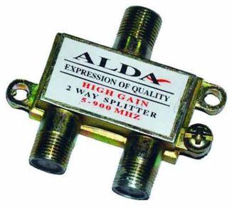 Разветвитель антенный Splitter 2-TV Alda