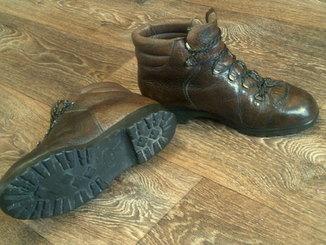 Raichle (Швейцария) кожаные горные ботинки разм.40,5