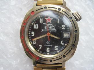 Часы Восток водонепроницаемые с браслетом на ходу
