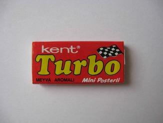 Нераспечатанная жвачка Турбо 1988 года, 2-ая серия (вкладыш от 51 до 120)