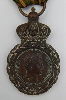 Франция. Медаль Святой Елены 1857 г.