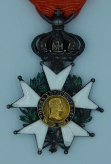 Орден Почетного Легиона в серебре 1852-1870 гг.. Вторая империя.