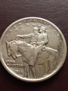 Пол Доллара США 1925года.Мемориал Стоун Маунтин.