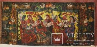 Картина кон. 19 века 150*70 см Масло Холст
