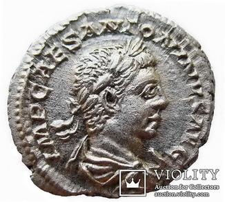 Денарий Элагабал 218-222 г. н.э.