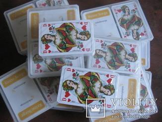Карти гральні нові Німечина 55 карти, 20 колод