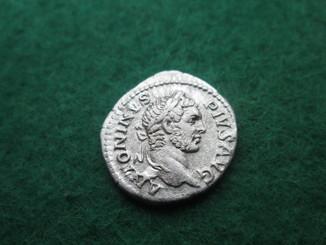 Каракалла  , денарий  209-211 г.