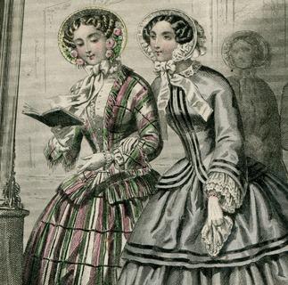 Франция. 1852. Моды Парижа