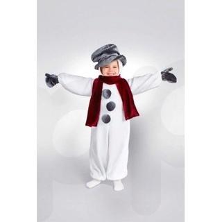 """Новогодний костюм """"Снеговик"""" ТМ Сашка, размер 110-122"""