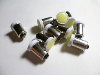 Лампочки светодиодные T4W (BA9S) 2 шт