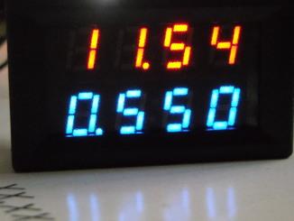 Вольтамперметр цифровой 200В 10А (вольтметр амперметр)