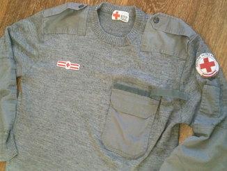 Теплый военный свитер