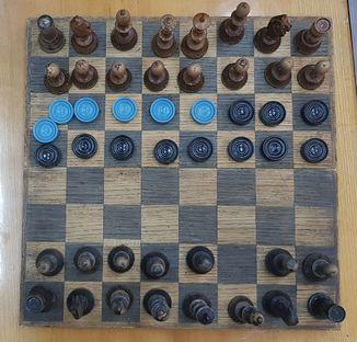 Шахматы деревянные СССР и шашки