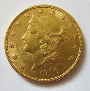 20 долларов 1900 года.