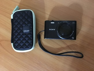 Фотокамера Sony DSC WX350 + чехол + карта памяти 8GB