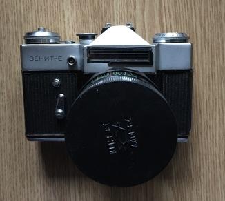 Фотоаппарат Зенит-Е с объективом Гелиос 44-2 2/58