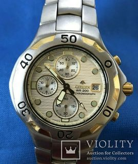 Хронограф Citizen Promaster Diver 200M Chronograph