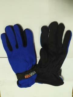 Перчатки утепленные спорт женские синий