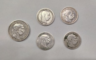 5  Австро-Угорських монет