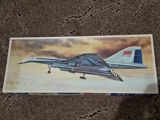 Самолет ТУ-144, 1:100, ГДР
