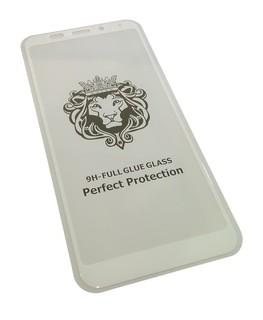 Защитное 5D стекло Xiaomi Redmi 5 Plus, 5+ белое
