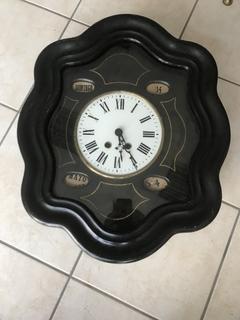 Французские настенные часы с календарём