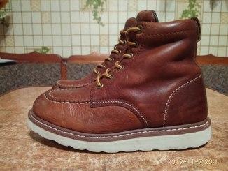 Шкіряні черевики р.36 Rugged Gear